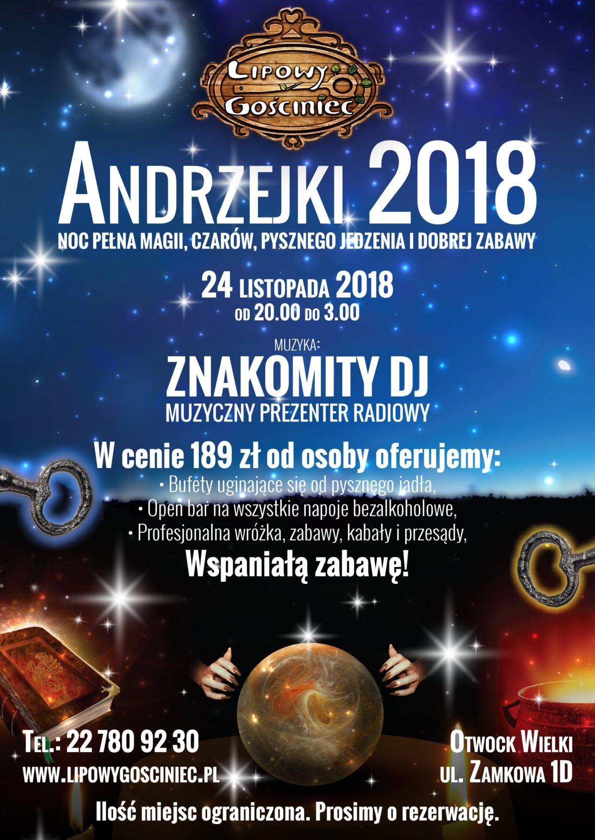 Andrzejki 24.11.2018 r.